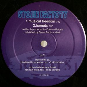 RH 01 - ROOTS & HERBS Records - STONE FACTORY - Musical Freedom